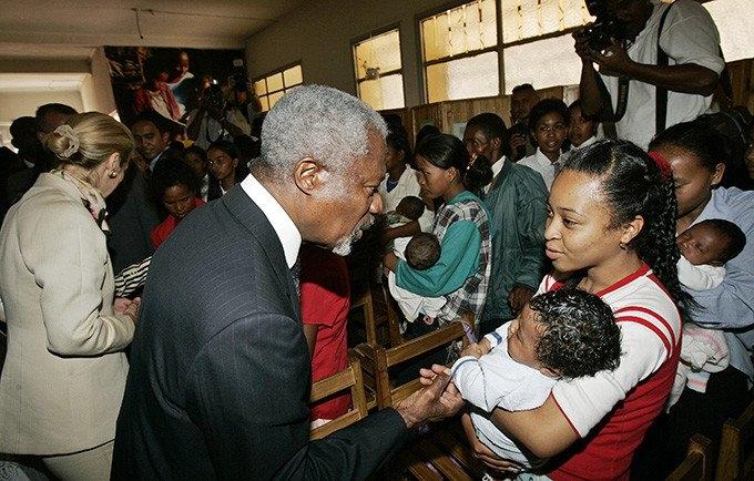 Declaración de la Directora Ejecutiva del UNFPA Dra. Natalia Kanem sobre el fallecimiento del ex Secretario General Kofi Annan