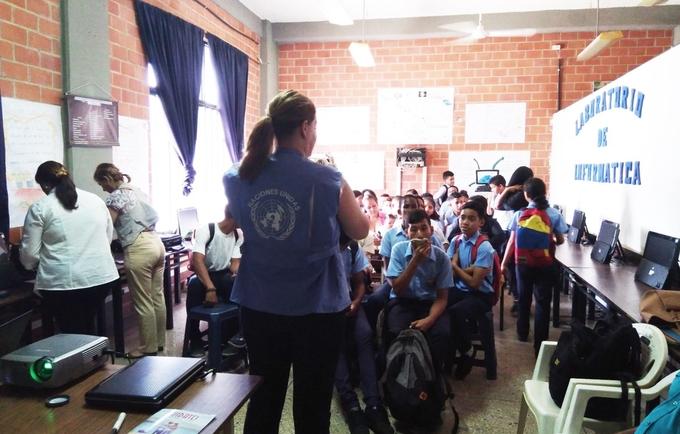 Puerto Cabello celebró el Día Nacional Escolar para la Prevención del VIH/Sida
