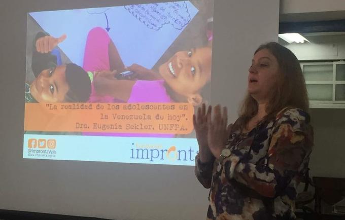 UNFPA Venezuela y Fundación Impronta comprometidos con el desarrollo de la población adolescente
