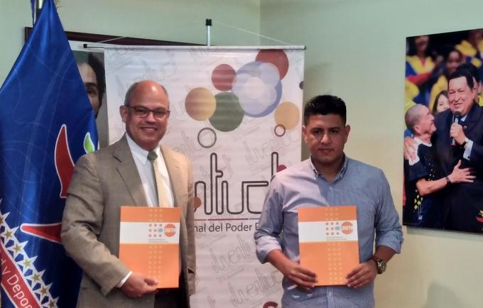 Firma entre el MinJuventud y el UNFPA
