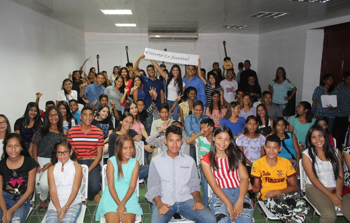 El Proyecto Soledad sigue apostando por la juventud del municipio Independencia, Estado Anzoátegui