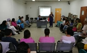 Hospital Materno Infantil capacitado en materia de Atención Integral en Salud a la Población Adolescente