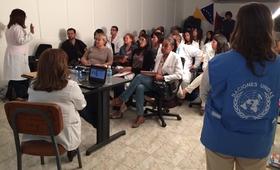 UNFPA Venezuela apoya capacitaciones en materia de ITS