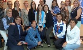 Formación sobre trata de personas y la violencia de géneropara la Red de Espacios Seguros de Bolívar