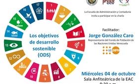 Facultad de Administración y Contaduría de la UCV repite charla informativa de los ODS