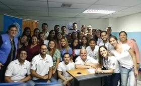Taller ALSO es llevado al Hospital Pérez Carreño y la Maternidad Concepción Palacios