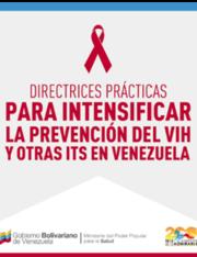 Directrices Prácticas para intensificar la prevención del VIH y otra ITS en Venezuela