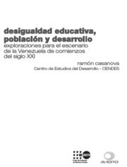 Desigualdad educativa, población y desarrollo